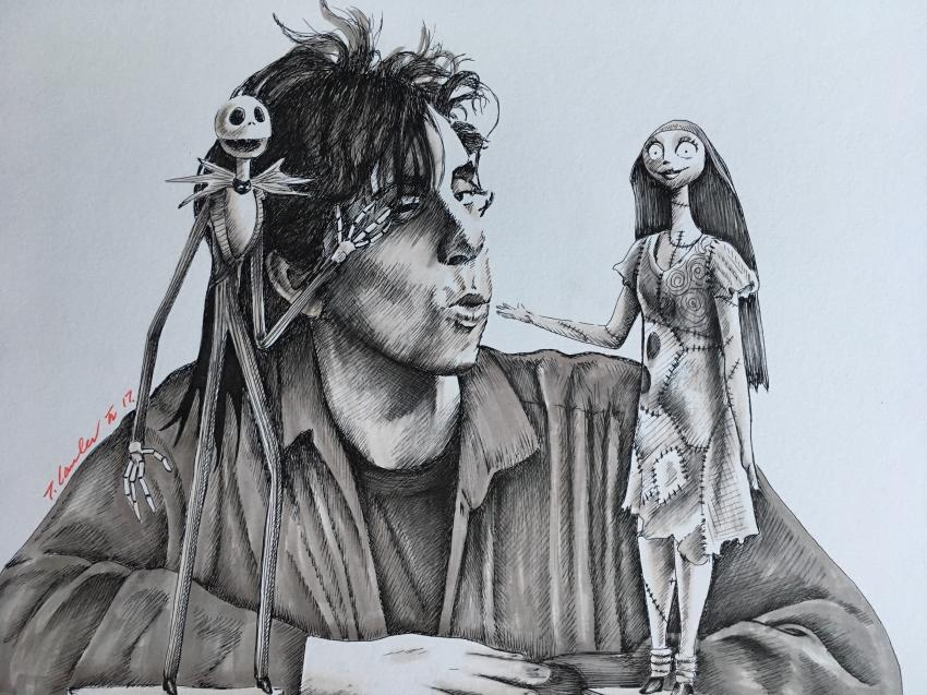 Tim Burton by TraceyLawler